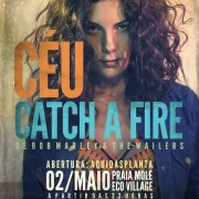 "Céu interpreta ""Catch a Fire"" (Bob Marley & The Wailers), 02-05 (Floripa)"