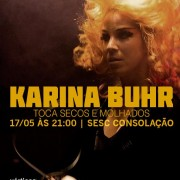 "Karina Buhr interpreta ""Secos & Molhados"", 17-05 (SP)"